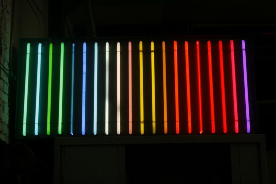 historie neon